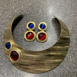 Gorgeous Vintage Park Lane Pierced Earrings